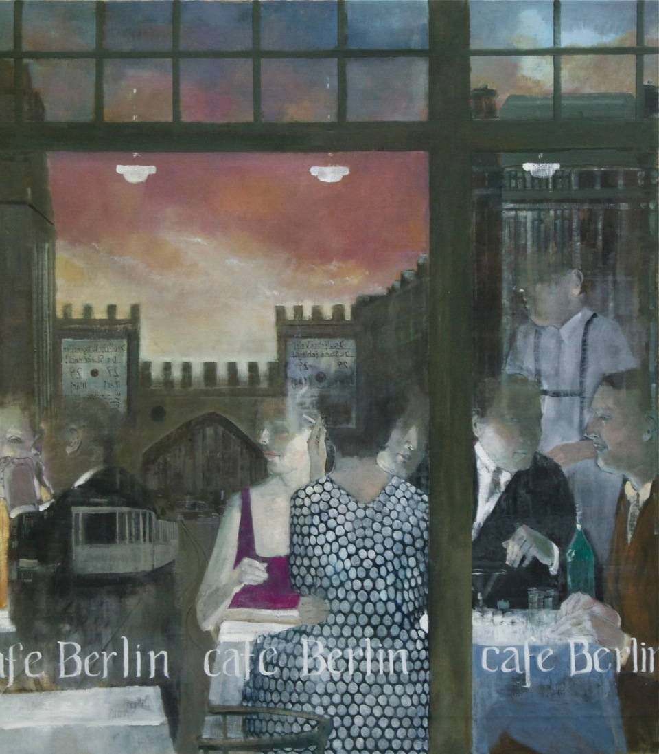 Cafe Berlin-Polka Dot Dress-46 x 40 in.jpeg