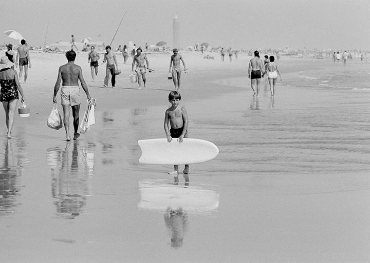 Boy with Surf Board