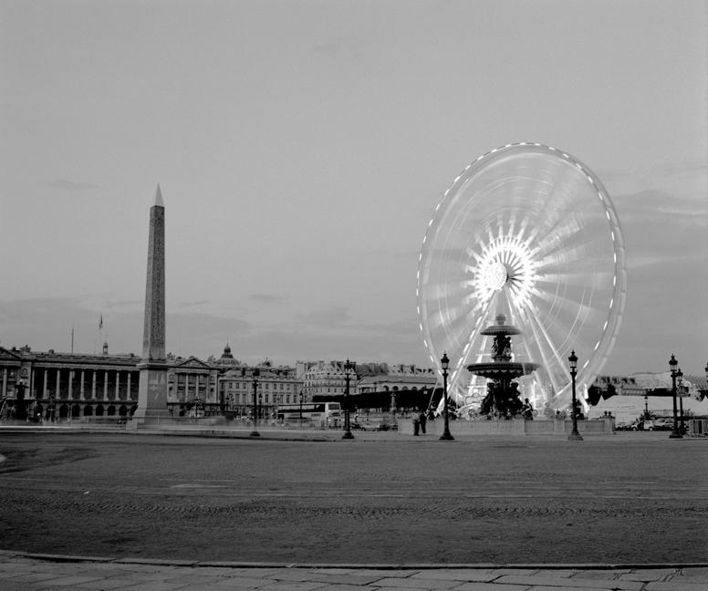 Place de la Concorde Evening