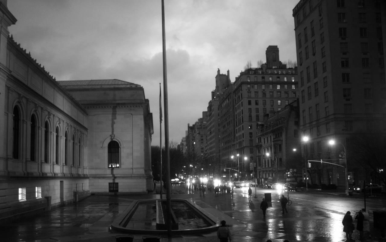 Evening at the Met