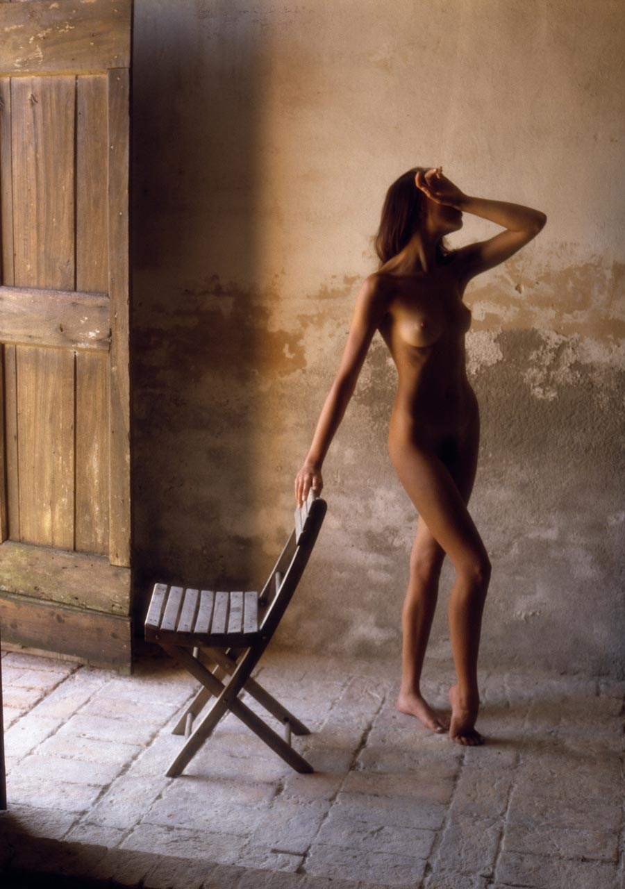 Nude by Chair