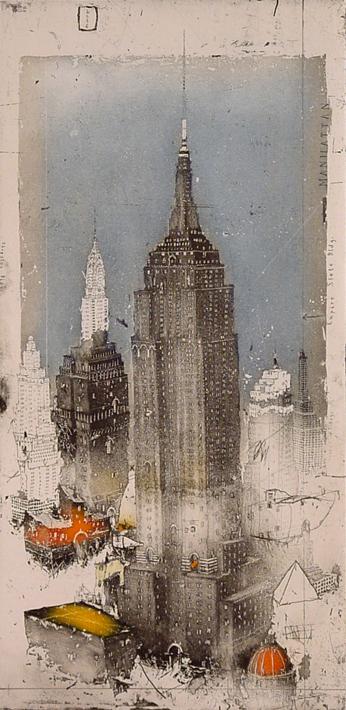 New York, Manhattan, Empire State, 2006