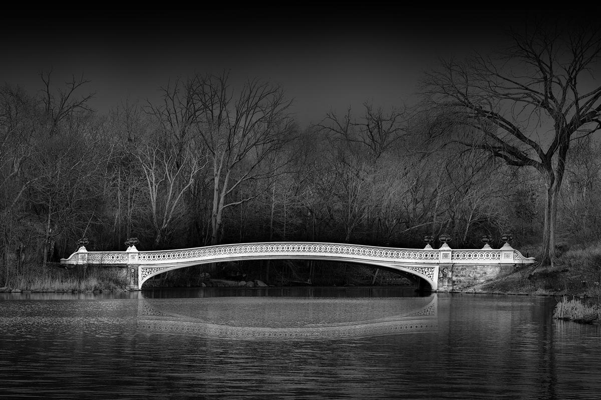 """The Bow Bridge"" Central Park, NY by Steve Dreyer"