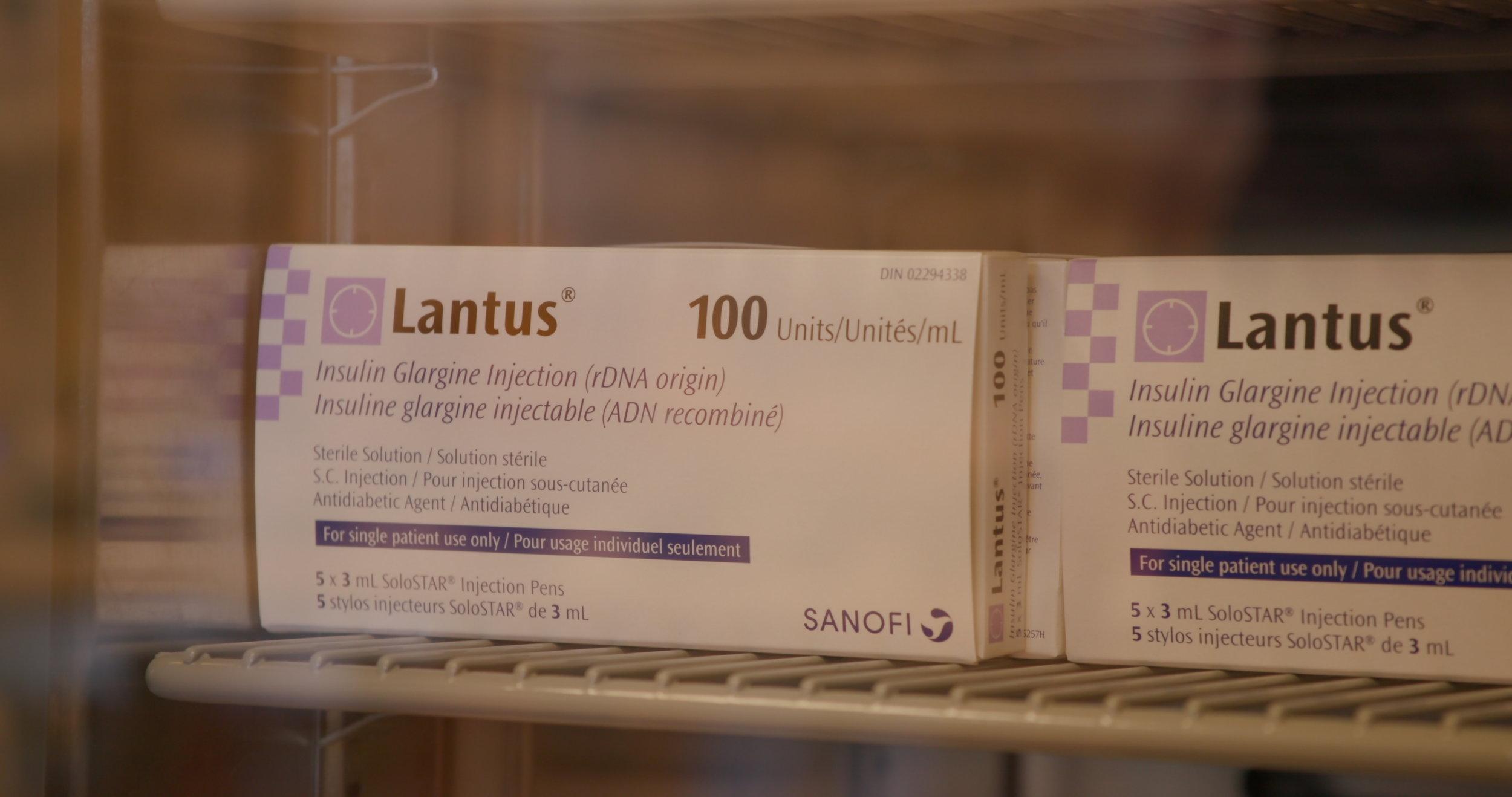 Insulin Lantus .JPG