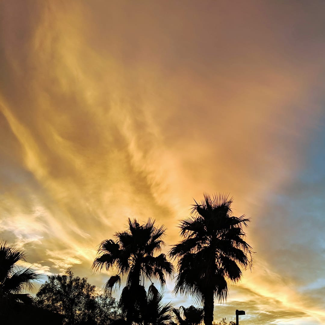 Copy of Loves sunrises, cold fronts, and the desert