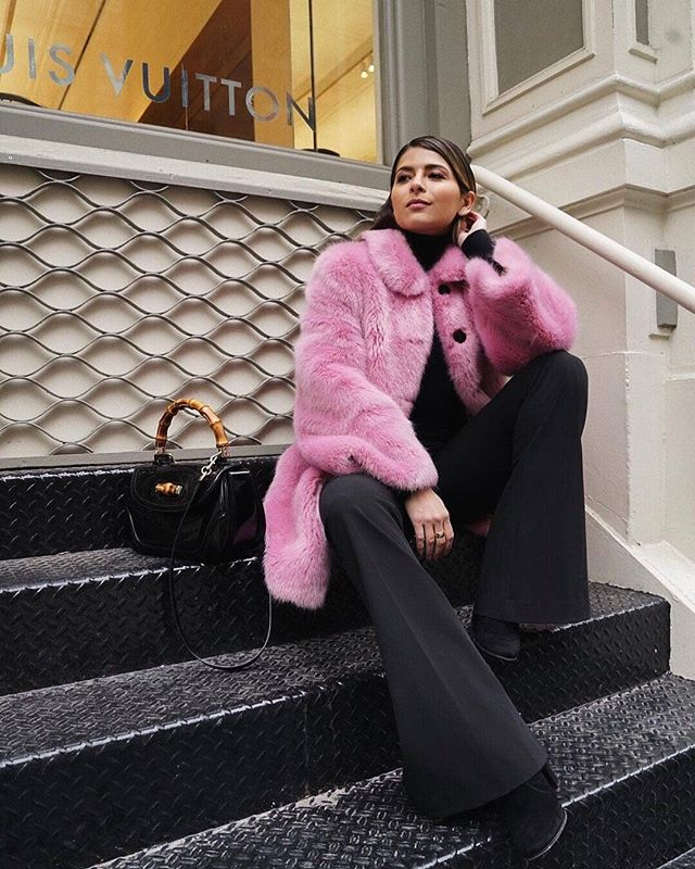 Pink and fluffy 💘 || 📸 : @pamhetlinger