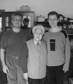 Jacques, Sun Shurong and Thomas (circa 2002)