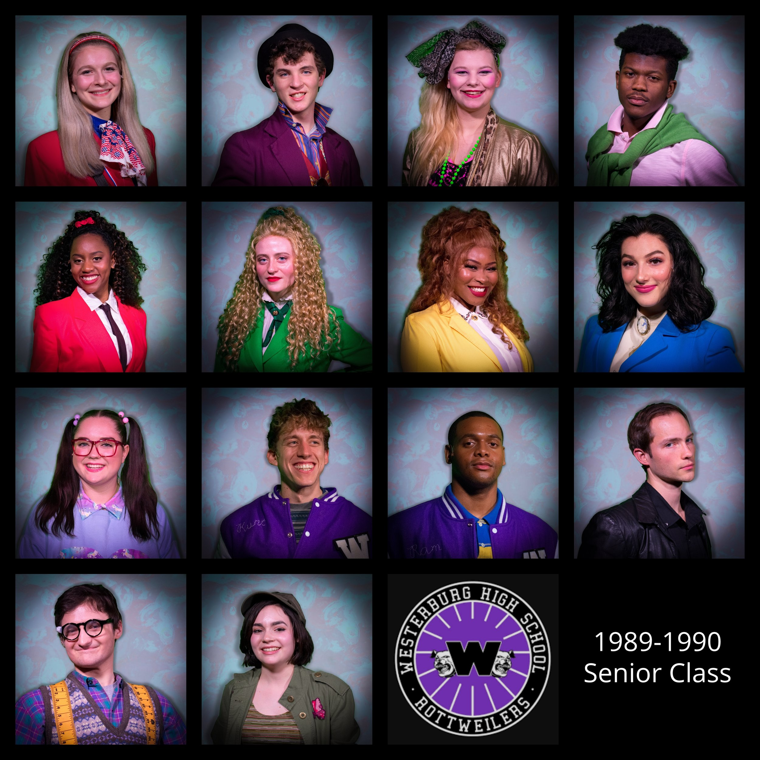 Photos used on the set of Heathers: the Musical at Howard Community College