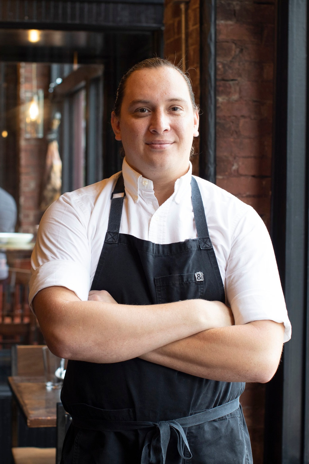 Edwin Molina started his career with CHG in 2009 at The Iberian Pig while attending Le Cordon Blue College of the Culinary Arts in Atlanta, Georgia. By the age of 23 he impressively rose through the ranks, earning the title as Executive Sous Chef, the fastest path to this position in CHG history. In 2011, Edwin was tapped to lead the kitchen at CHG's new Italian concept, Double Zero. He was promoted to Executive Chef with the move, and for 8 years Edwin was the culinary vision behind the menu. In the summer of 2019 Edwin returned to his roots at The Iberian Pig as Executive Chef. With almost a decade of experience with CHG, Edwin is perfectly situated to steer the ship at our highest volume restaurant.  When Edwin isn't in the kitchen, you can find him cheering on the Atlanta Falcons and the Atlanta Braves, and spending time with his 2-year old daughter, Olive.