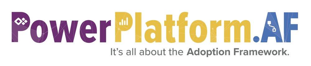 Power Platform Adoption Framework — Andrew D Welch