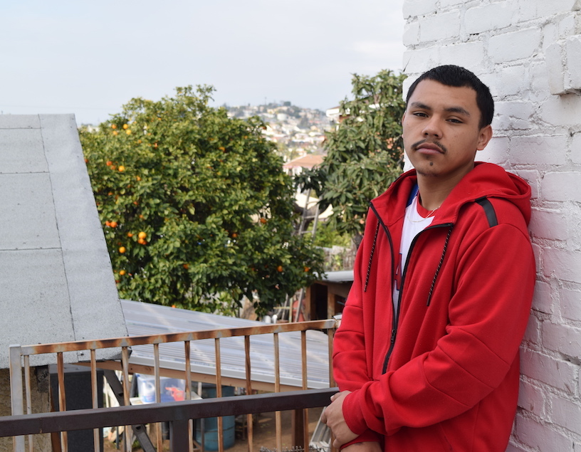 Edson Ramirez, 18, is a youth advocate with the Arts for Incarcerated Youth Network. Photo: Jeremy Loudenback