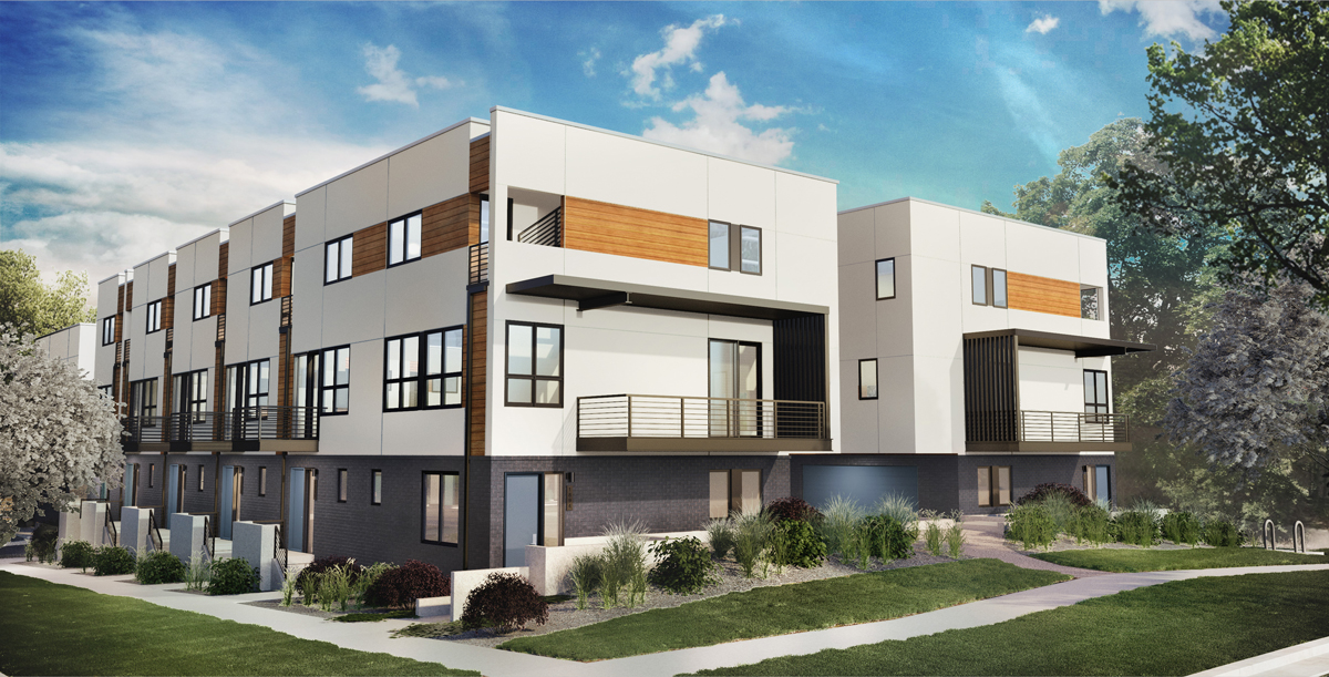 1 and 2 Bedroom Townhomes, Blocks from Sloan's Lake - Act now, these homes won't last.