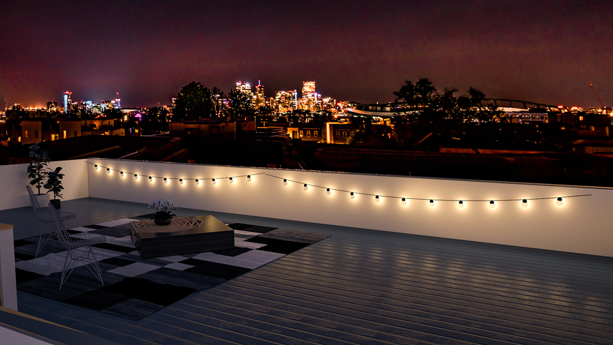 360 Views of the Mile-High City - The roofdecks at Sloan's Pointe have no obstructions, meaning you've got the best views in both directions.