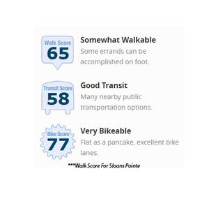 Sloan's Pointe Walk-Score.