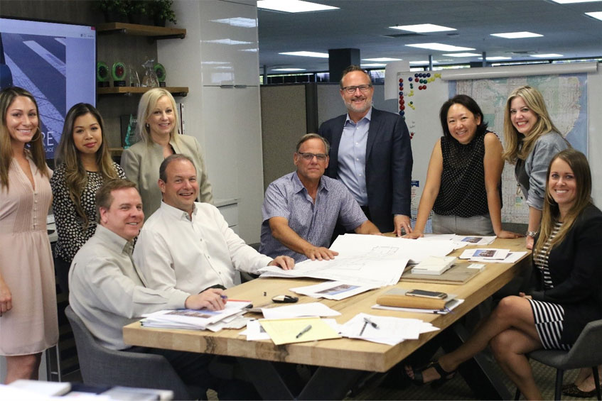 PICTURED ABOVE: The award-winning interiors team at BDR led by Michelle Shur and Kieleann Scheller are continuing to make refinements to the new condominium offerings with two distinct color schemes.