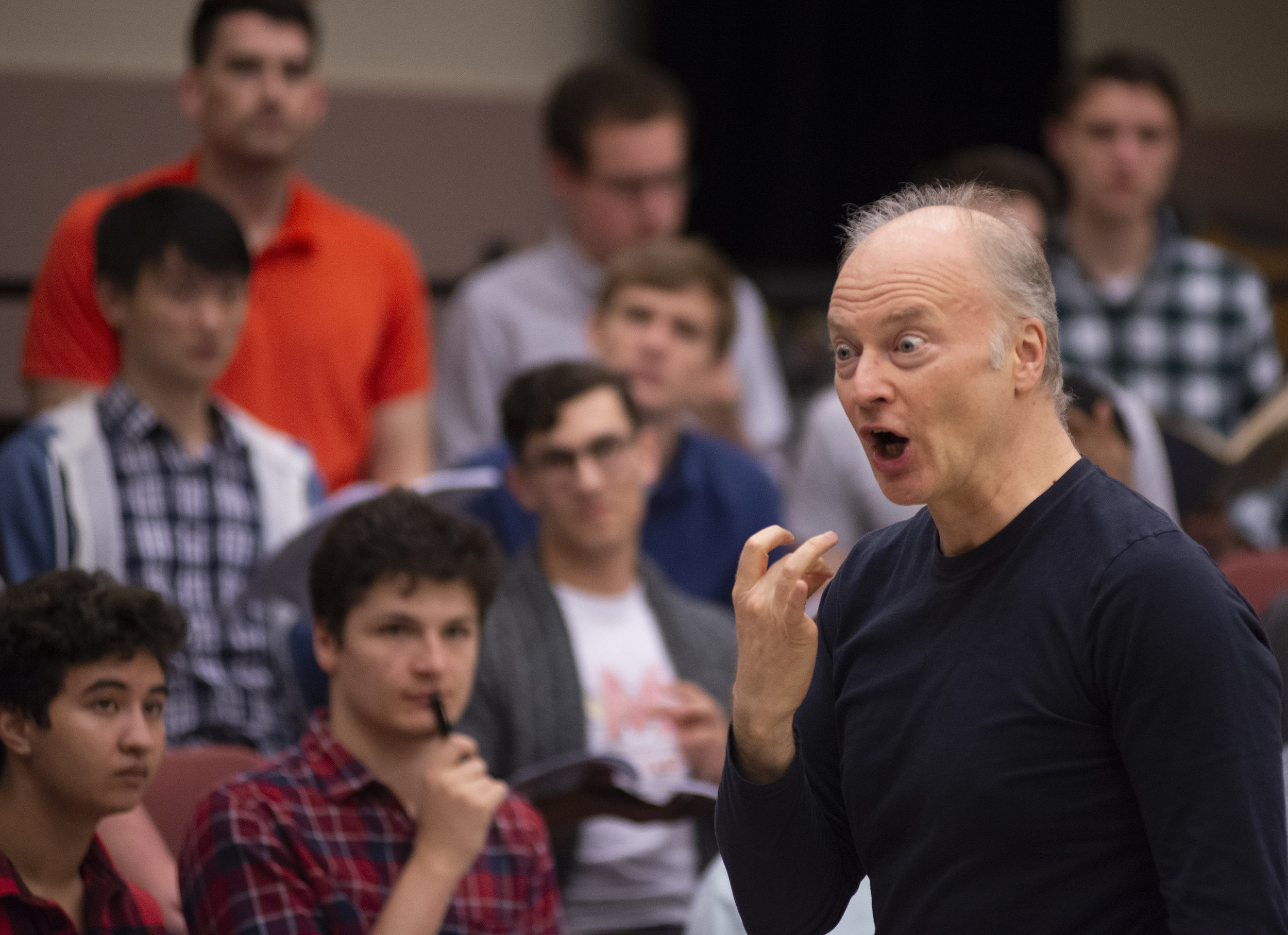 """Gianandrea Noseda."" Photo by David Andrews, property of The University of Maryland School of Music, 2019. All Rights Reserved."