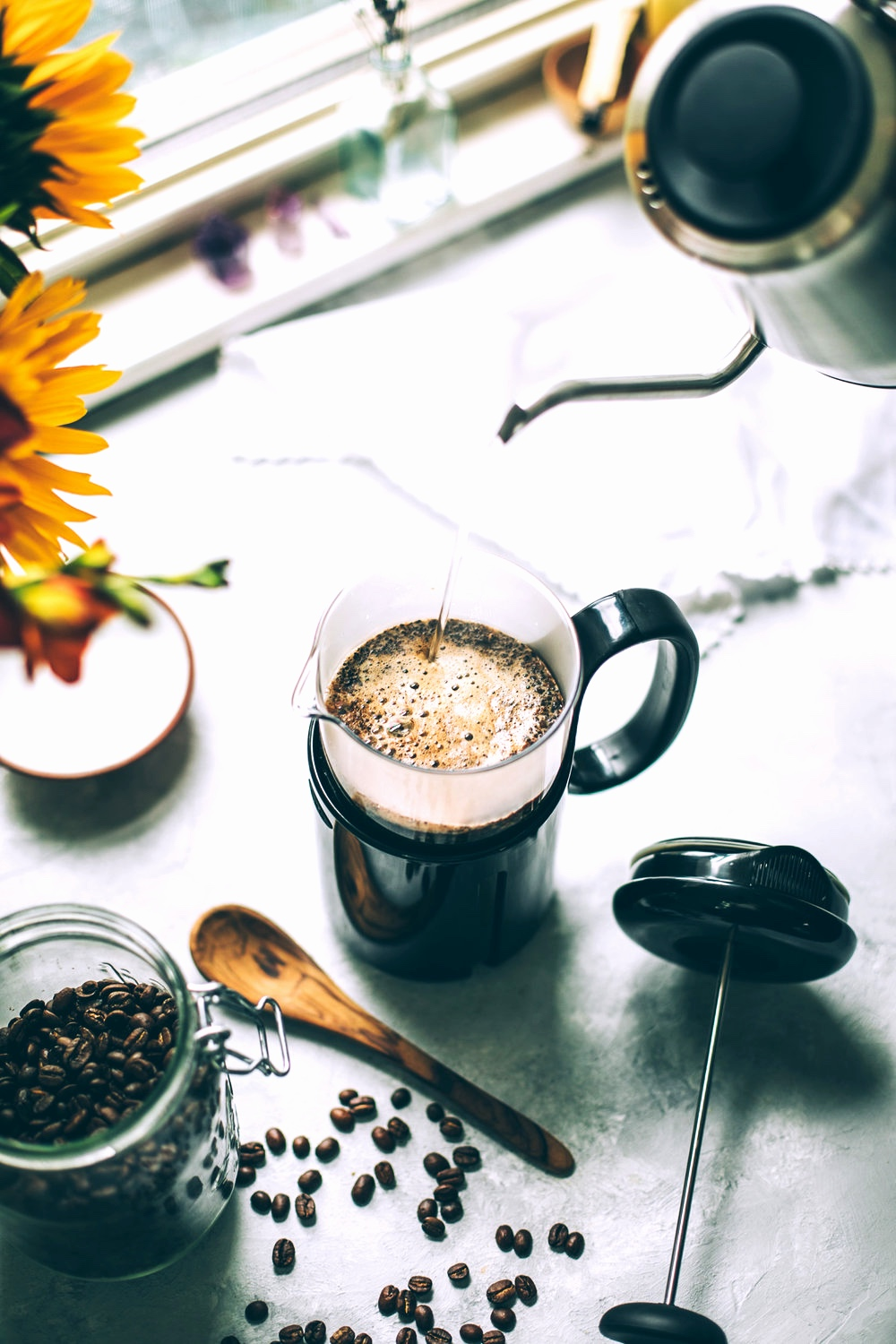 French Press coffee by Lariat Coffee Roasters