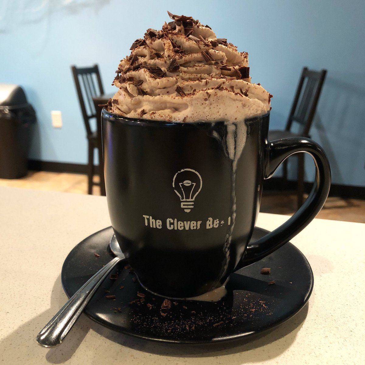 The Clever Bean uses our chocolate in their Royal Hot Chocolate.