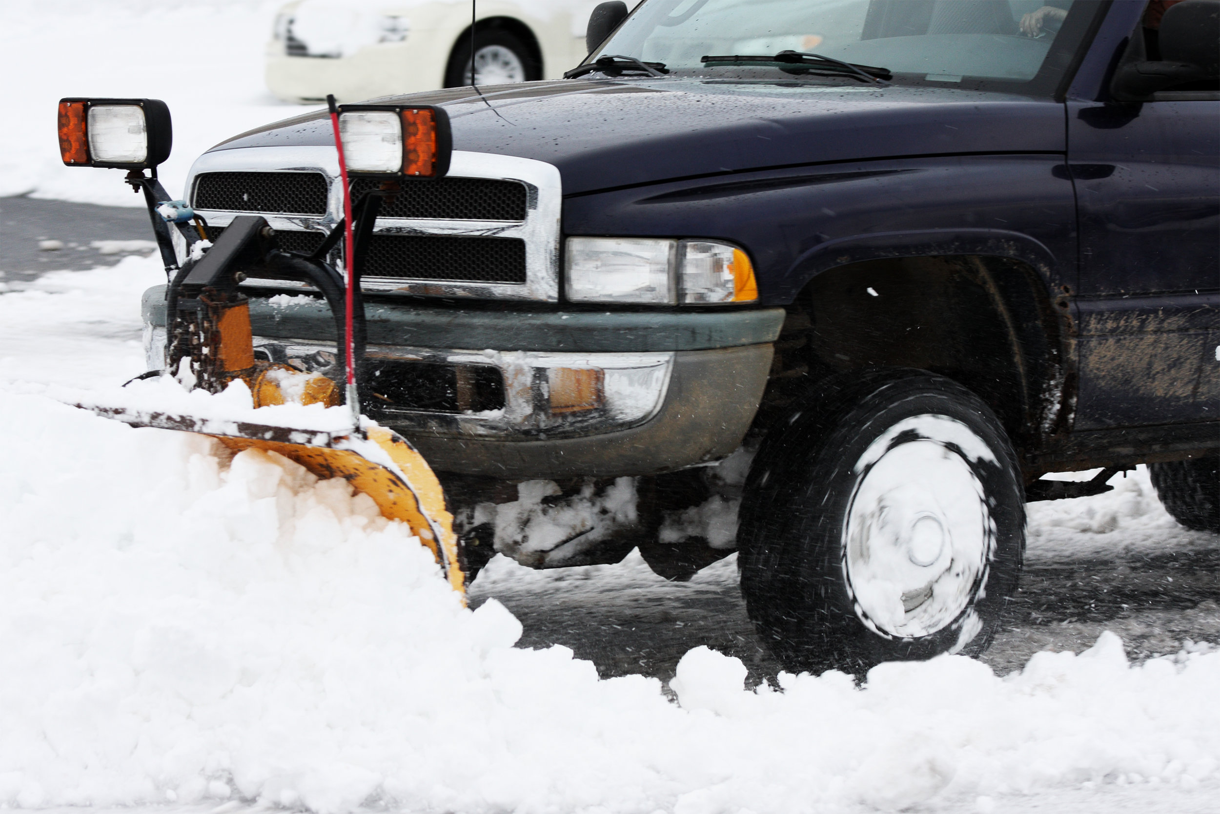 Snow Plowing - We offer fast, reliable, professional snow plowing services