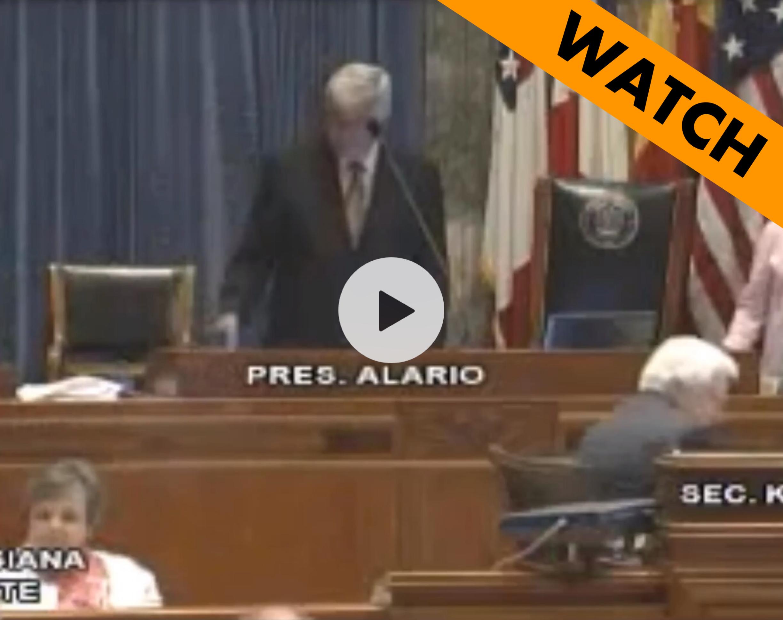 Invocation at Louisiana Senate