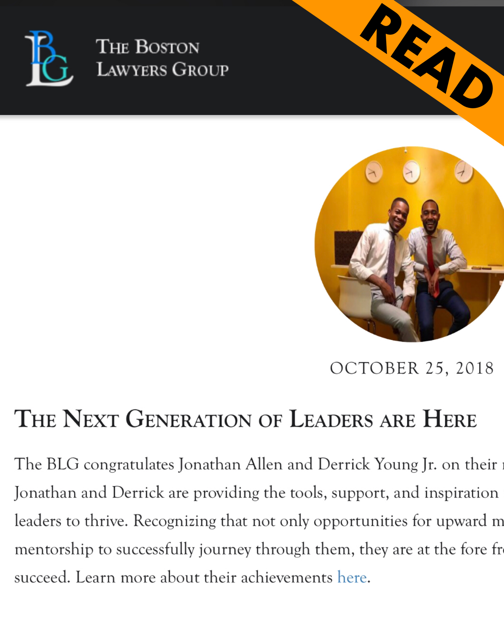 Next Generation of Leaders