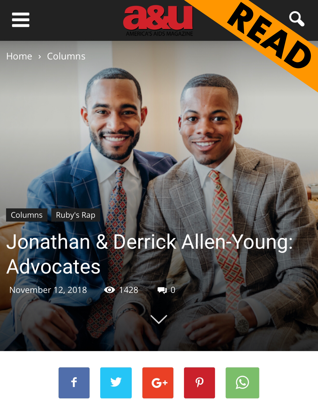 Advocates - Jonathan & Derrick
