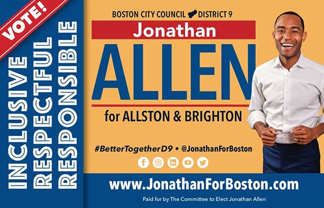 VOTE this Tuesday! Polls open at 7AM and close at 8PM! Mark your calendar, plan your ride, and bring a friend! 🗳 #BetterTogether D9 • #Community #WeAreBetterTogether #JAforBoston #Brighton #Allston #Boston #BostonCityCouncil #positivity #massachusetts #volunteer #BetterTogetherD9 #bospoli #brightonma #allstonma #allstonbrightoncommunity