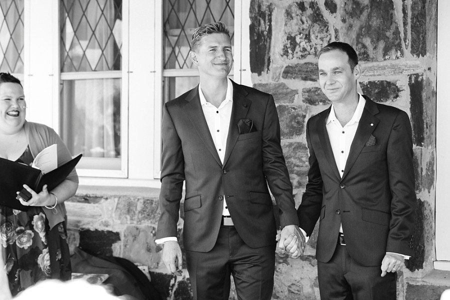 James & Grant - James and I wanted to thank you for the beautiful pictures you took at our wedding. We really appreciated how it easy it was to deal with you and you captured the spirit of our wedding perfectly. We didn't want lots of staged pictures, seeking instead more sneaky pics of us and guests enjoying the wedding… in a natural state. I'm happy to say that there are so many beautiful shots we're having trouble sorting out which one's we want to put into an album! You have such a wonderful eye for capturing the moment and we're still not sure how you managed to get all those pics with the sun being so bright on the day!Anyway, thank you again and we'll certainly be recommending to you our family and friends.