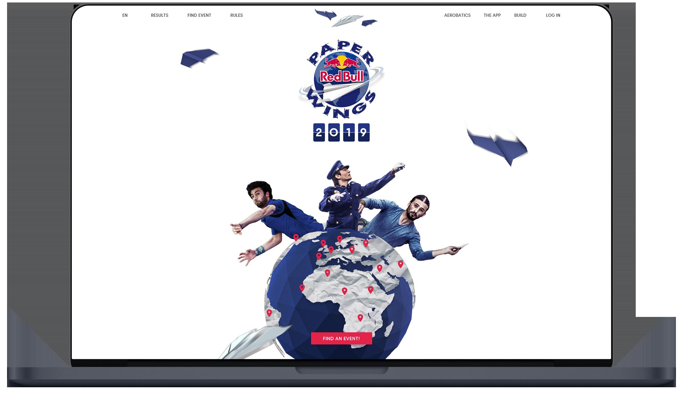 Red Bull Paper Wings