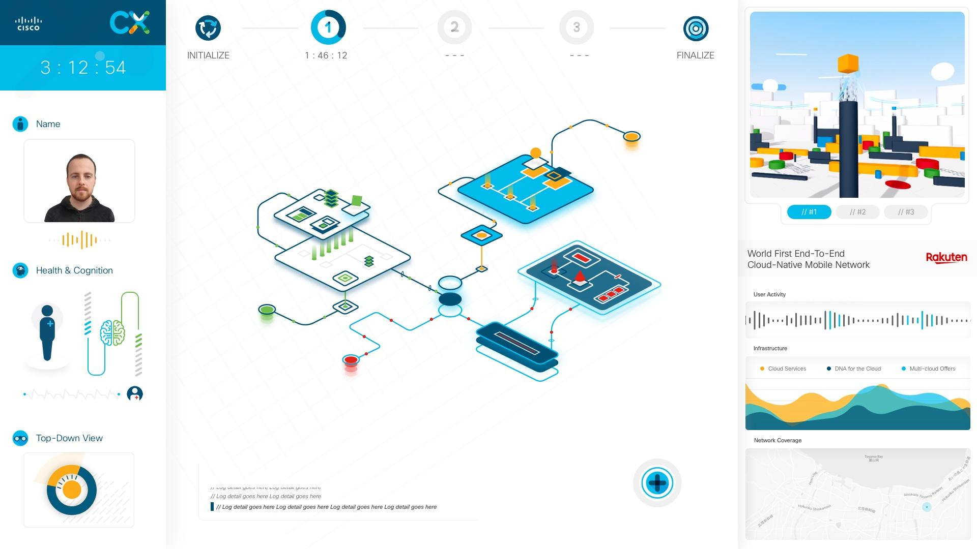 Cisco CX interactive game