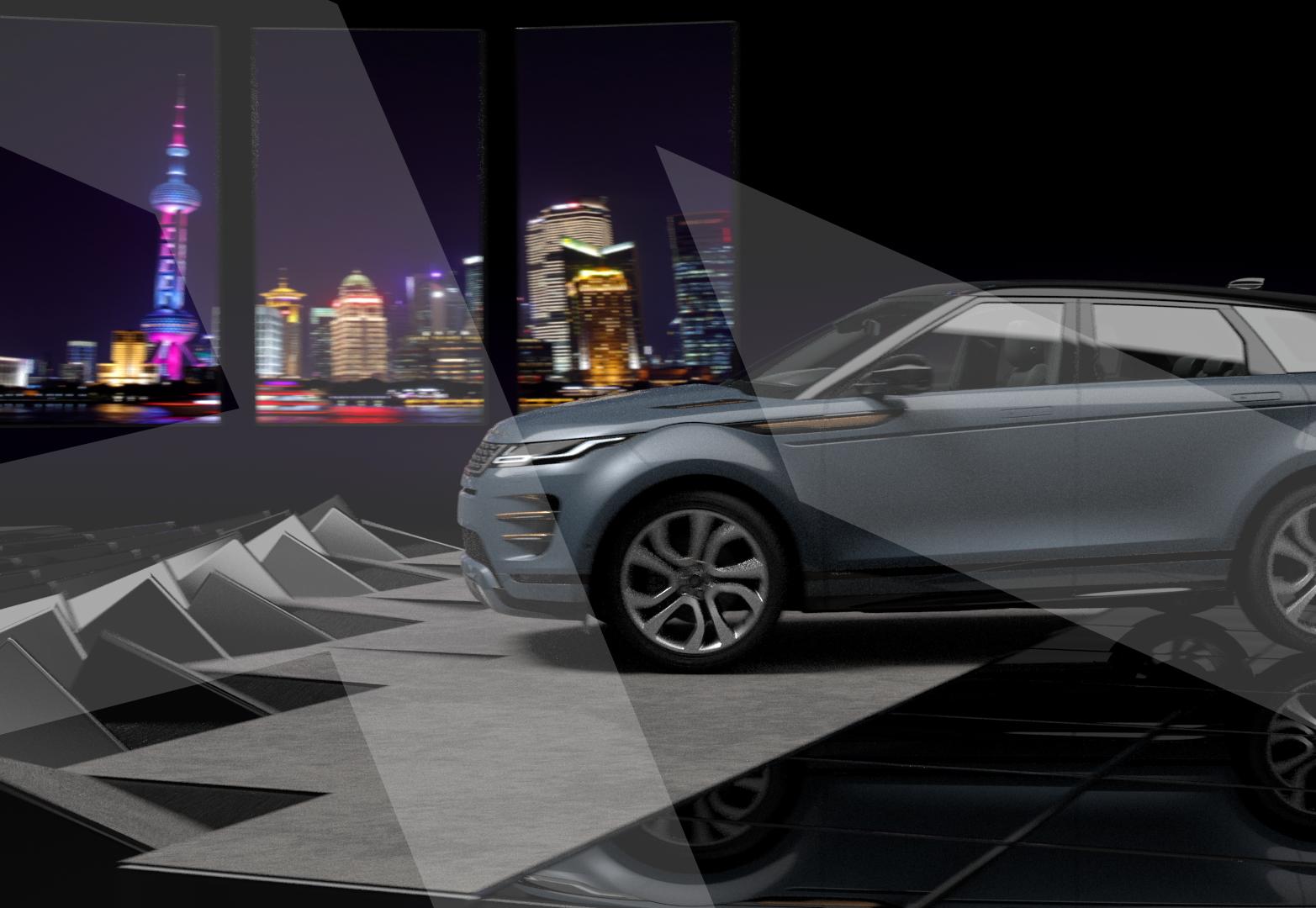 Jaguar Land Rover Experience app