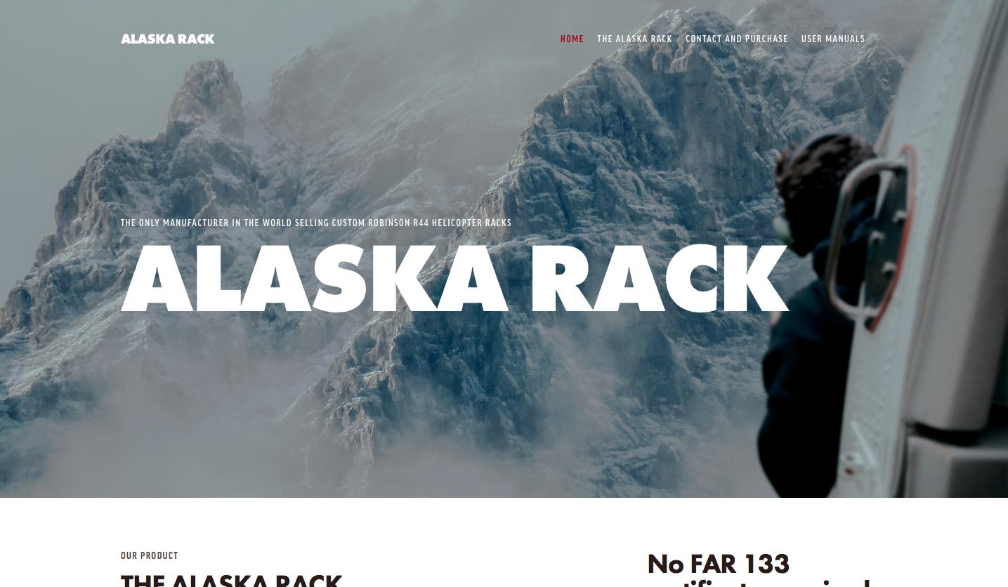 ALASKA RACK, ANCHORAGE