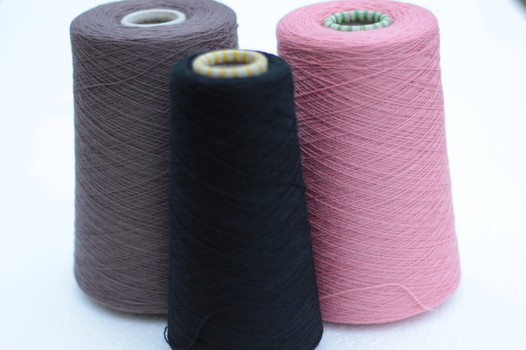 Solid - When yarn has a solid colour it means that the entire thread was died in the same colour.