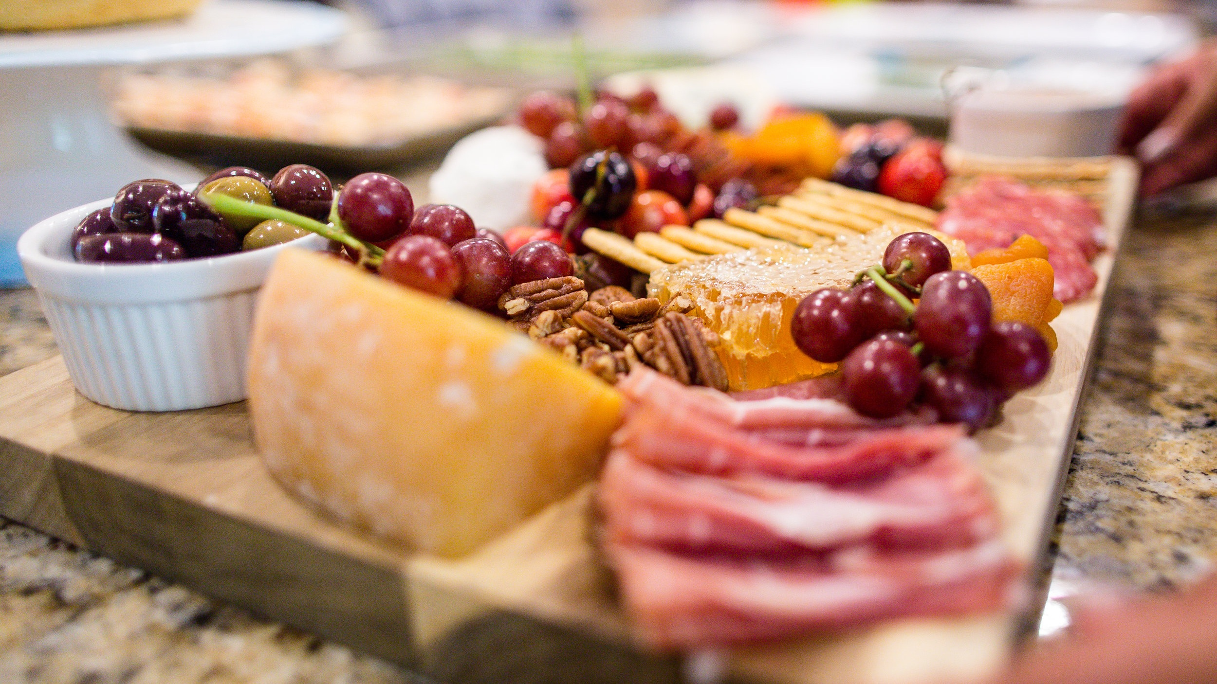Charcuterie Board (Summer Dinner Party)