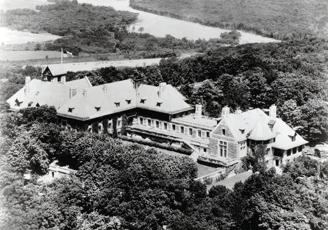 ARDEN HOUSE, A HISTORIC ESTATE DONATED TO COLUMBIA University IN 1950, WAS THE HOME OF THE AMERICAN ASSEMBLY FOR OVER 50 YEARS.