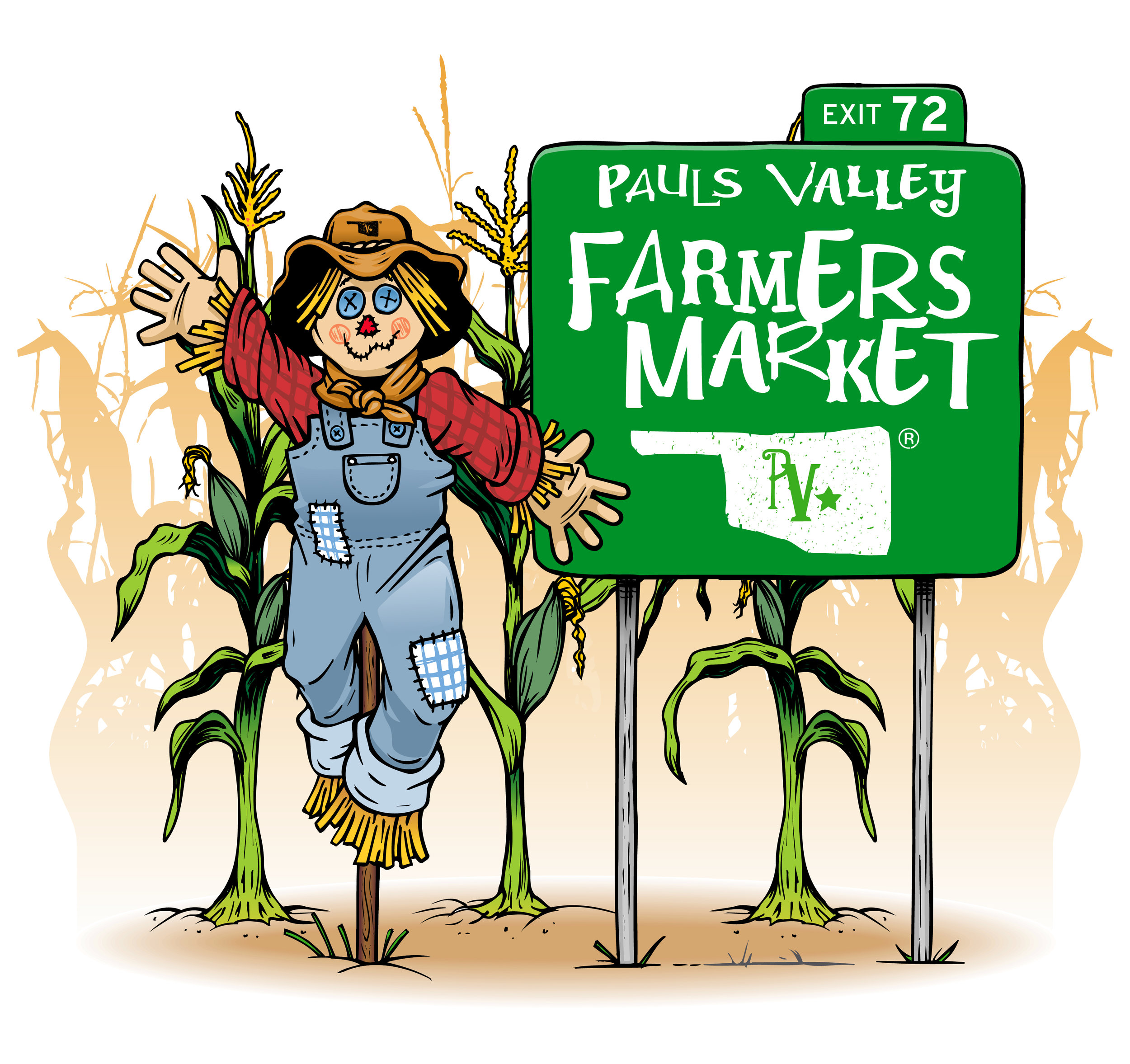 The Pauls Valley Farmers Market - Tuesday 3-6Saturday 8-12