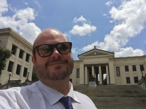 Adán Carrizo. Doctor de Derecho Procesal en la USAL.