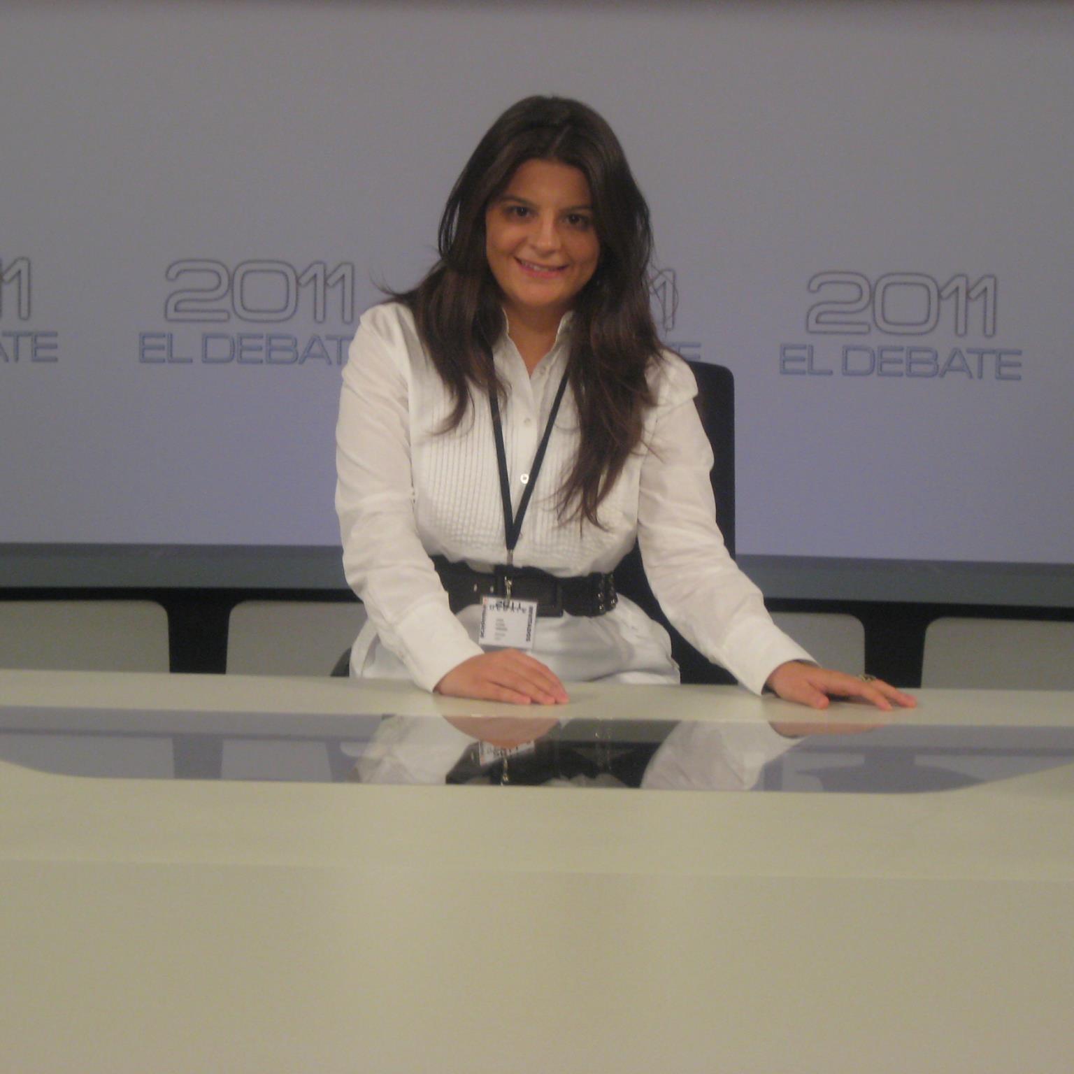 Leticia Álvarez. Periodista en Telemadrid.