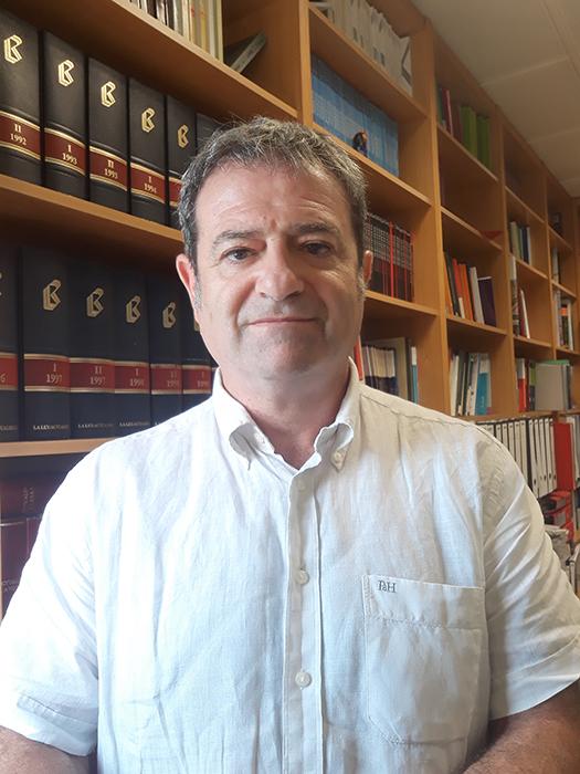 Fernando Fita. Profesor en la Universidad de Valencia