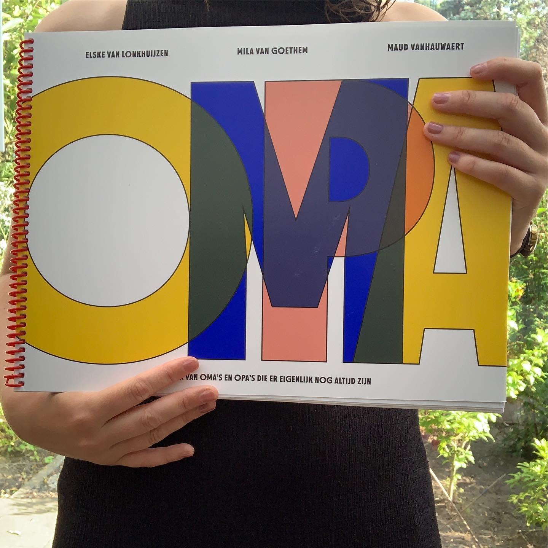 Kleurboek van oma's en opa's die er eigenlijk nog altijd zijn -