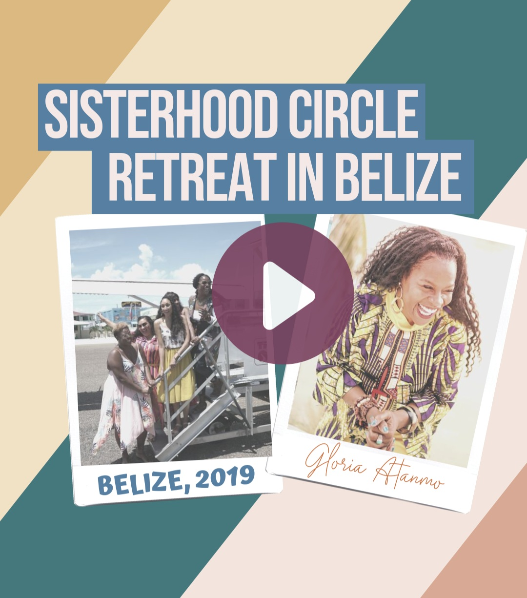 SISTERHOOD CIRCLE RECAP VIDEO + TESTIMONIALS - Still unsure of what to expect at these one-of-a-kind retreats? Watch this recap on IGTV to get a glimpse into the luxury, laughs, and learning we all experience together.Past retreat destinations include: Playa del Carmen, Zanzibar, Cappadocia, Bali, Belize, and Malta.