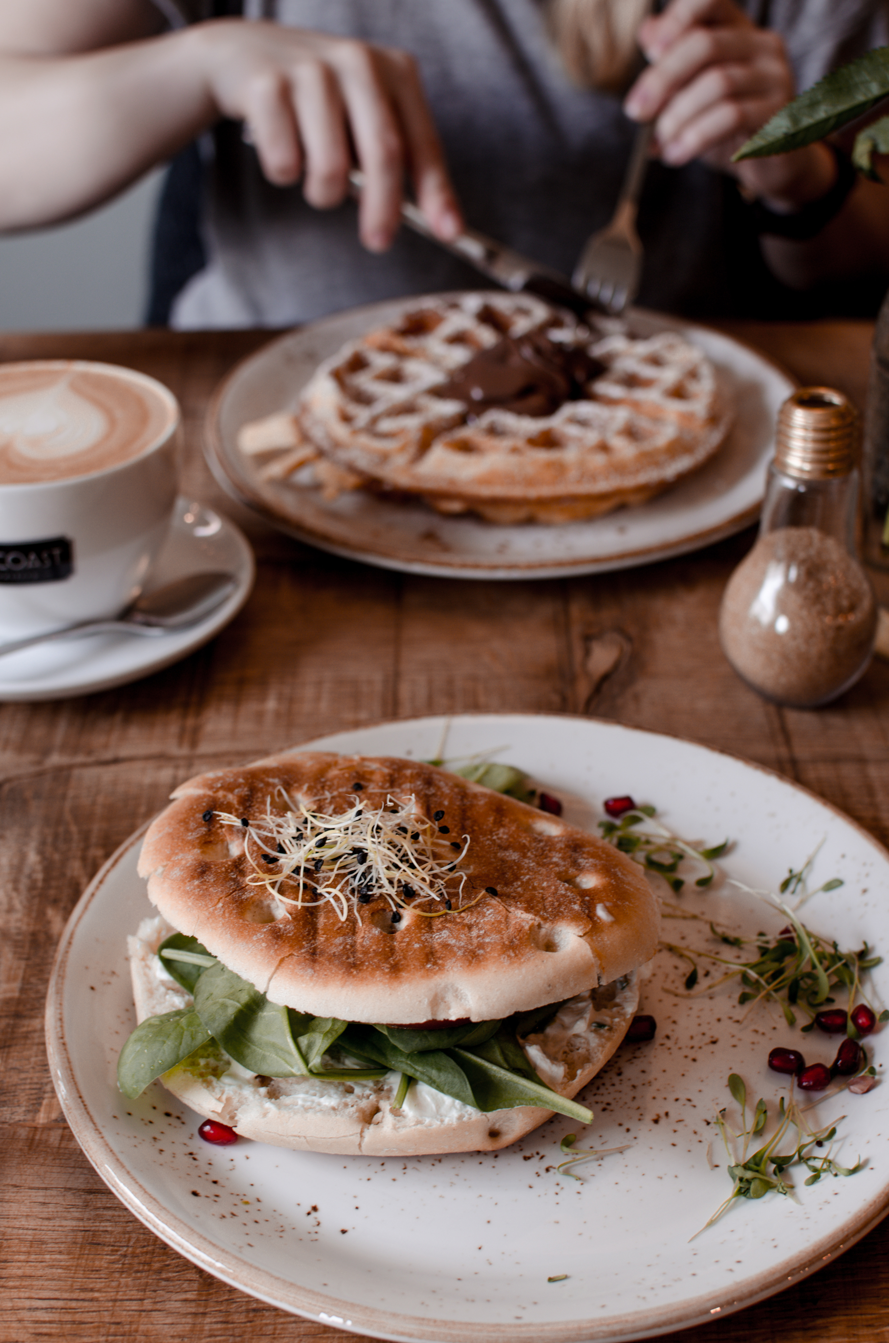 Nord Coast Coffee Roastery Hamburg Waffles