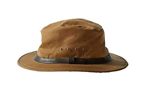 Filson Tin Cloth Hat - This is for the long haul—it will not reveal its true character until it's been creased, stained and pinned with flies. Preferred by the great fishing writer, John Gierach. $70 from Filson.