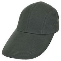 VILLAGE HATS LONG-BILL CAP - A classic silhouette perfect for flats fishing, available in a range of colors. Velcro closure isn't ideal, but can't complain at this earthbound price. $12 from Village Hats.