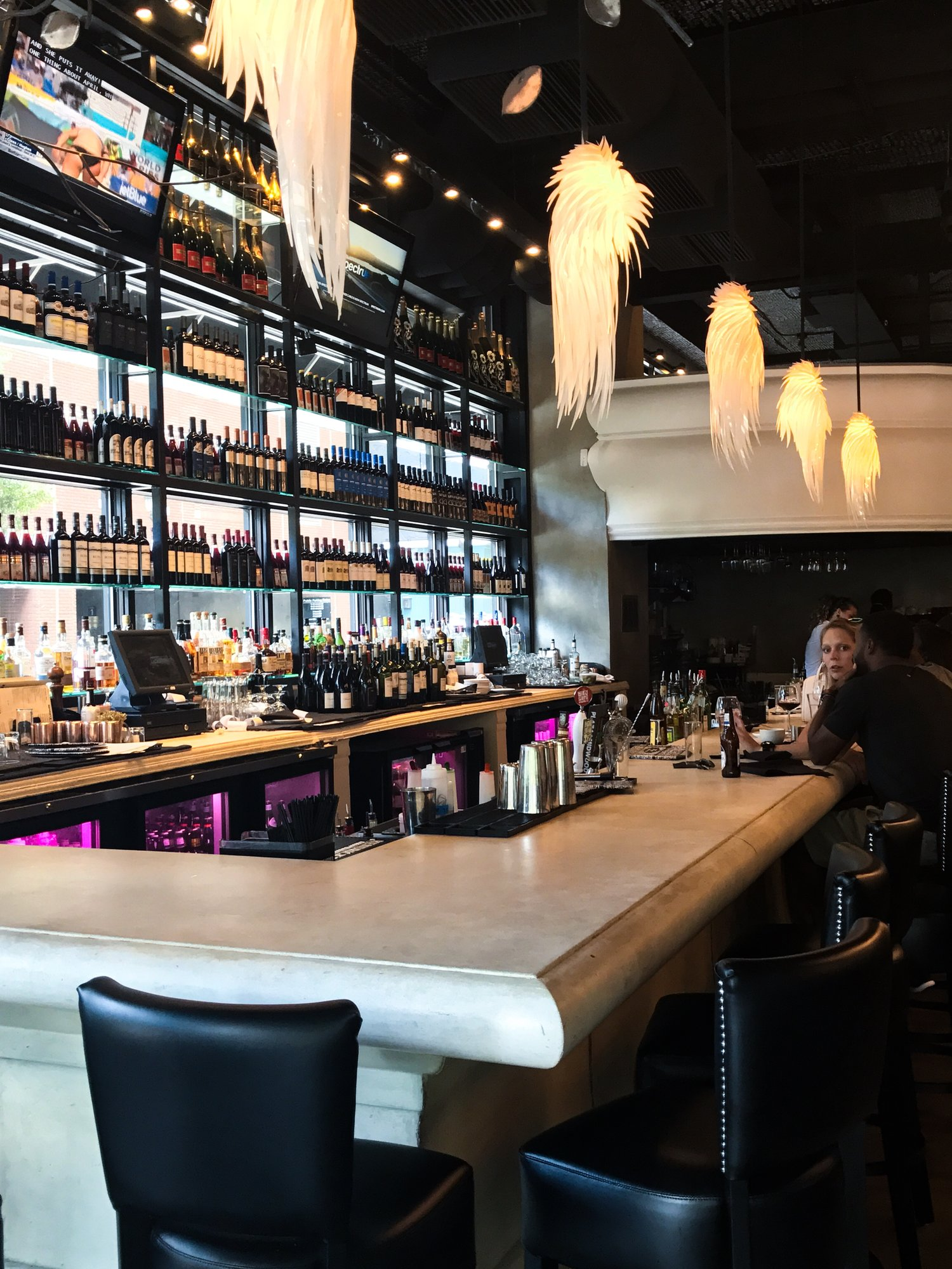 The bar in Charlotte location just as gorgeous as Atlanta's