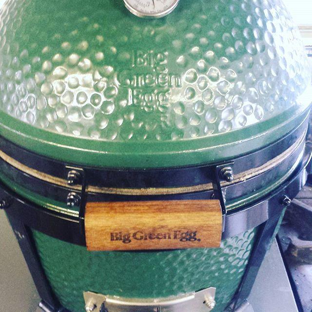 The kitchens new indoor bbq #Weobley #food #biggreenegg