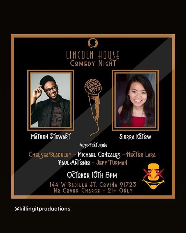 The @lincolnhouserestaurant Comedy Club #lincolnhousecomedyclub #lincolnhousecovina #comedyclub #comedy #downtowncovina