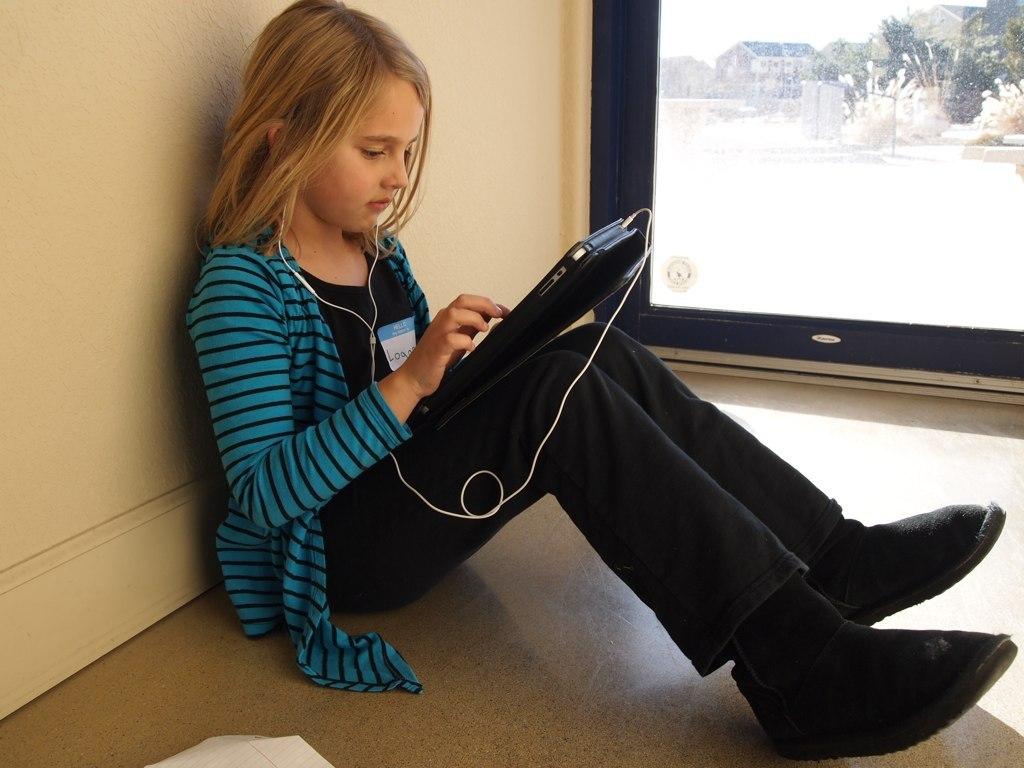 At bruge iPads eller anden teknologi i et skoleøjemed virker ikke fremmende for indlæring, mener Jesper Balslev, ph.d-stipendiat ved RUC.  Foto:  Brad Flickinger  på  Wikimedia Commons