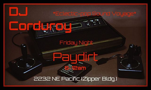 Paydirt is becoming one of the best places to dj on a Friday night. Good crowd. Glad to be back. Come check it out! 8-12am
