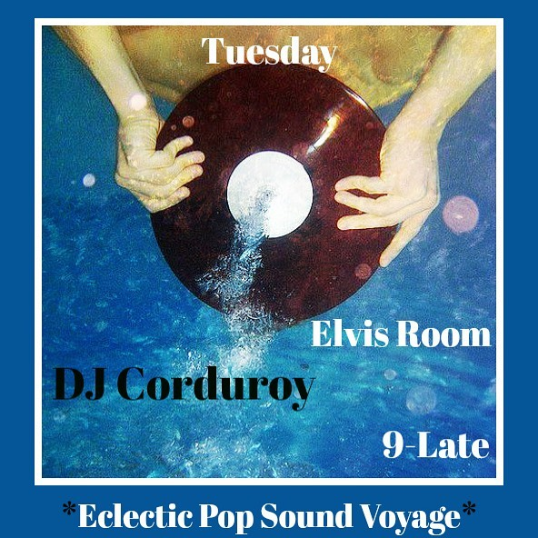 Tuesday Night! I'll be back at the Elvis Room to spin vinyl records for the masses 🤘🏼 9pm-Late. No cover. #portlanddj #eclectic #vinyl